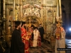 His Beatitude incensing at the Holy Sepulchre