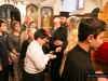 Patriarchal School students at the Holy Unction