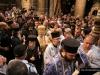 His Beatitude, the Retinue and the Armenian Patriarch at the Rotunda