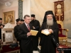 The Greek delegation for the Holy Light