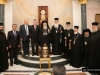 The Greek and Cypriot delegations for the Holy Light
