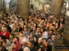 Pious pilgrims at the Holy Sepulchre