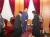 His Beatitude, Mr Tsiaras, the Secretary-General and the Consul-General