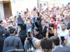 Welcoming the Ecumenical Patriarch in the Holy Forecourt