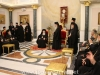 The Patriarch of Jerusalem addresses the Ecumenical Patriarch in the Hall of the Throne