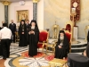 The Ecumenical Patriarch addresses the Patriarch of Jerusalem in the Hall of the Throne
