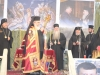 His Beatitude blesses the flock