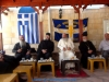 Festive reception hosted by Monk Achillios