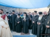 H.B. and retinue during the Divine Liturgy