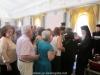 Pilgrims receiving Jerusalemite eulogias (blessings)