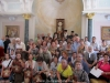 His Beatitude, the Metropolitan of Petra and pilgrims from Crete