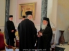 The Metropolitan of Mesogaia and accompanying priests with His Beatitude