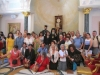 His Beatitude with pilgrims led by f. Asterios