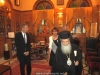His Beatitude with his distinguished guests in his office