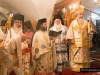His Beatitude blesses the wheat and fruit