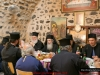 The Patriarch and Retinue hosted to festive lunch
