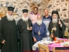 The Abbot, Archimandrite Timotheos, hosts the Patriarchal Retinue to lunch
