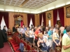 Pilgrims with the Metropolitan of Florina at the Patriarchate