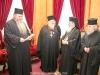 The decoration of Protosyncellus, Archimandrite Justinus