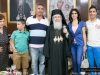 His Beatitude with members of the parish of the Prophet Elias