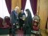 Mr Giza receives Jerusalemite eulogias