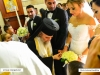 Archbishop Aristarchos performs the engagement