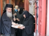 His Beatitude receives the blessed bread