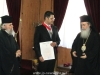 Mr Makris extends his thanks to the Patriarchate of Jerusalem