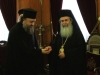 His Beatitude blesses the key to the Jericho guesthouse