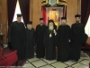 His Beatitude and retinue with the Romanian Fathers