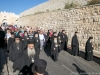 The Patriarchal Retinue walks to Gethsemane