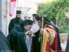 Archimandrite Bartholomew welcomes the Archbishop of Pella