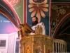 Hierodeacon Agapios reading the Gospel