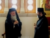 Patriarch Theophilos extends words of spiritual guidance to the new monk