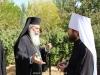 The Patriarch of Jerusalem and Metropolitan Hilarion of Volokolamsk