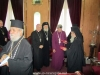 His Beatitude offers gifts to members of the Commission for Theological Dialogue