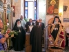His Beatitude and retinue at the Church of the Prophet Elias