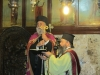 The Metropolitan of Kition officiating at the service for the Nativity of Theotokos