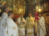 The Metropolitans of Kition and Zimbabwe during the divine Liturgy