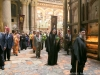 The holy procession around the Holy Sepulchre