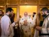 The Metropolitan of Nazareth, co-officiating