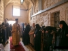 Nuns and pious pilgrims at the Narthex