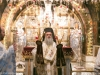 Archbishop Demetrios of Lydda leading the morning Service