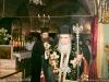 His Beatitude performs the memorial service on Golgotha