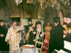 His Beatitude performs the memorial service on Golgotha