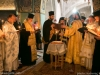 His Beatitude, Prelates and Hieromonks at the memorial service