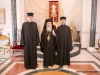 His Beatitude and the two prospective deacons