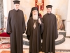 His Beatitude with fathers Sergei and John