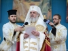 H.B. Patriarch Daniel of Romania welcomes H.B. Patriarch Theophilos of Jerusalem