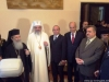 Their Beatitudes the Patriarchs of Jerusalem and Romania and other guests at the University